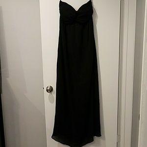 Pure sugar black maxi dress